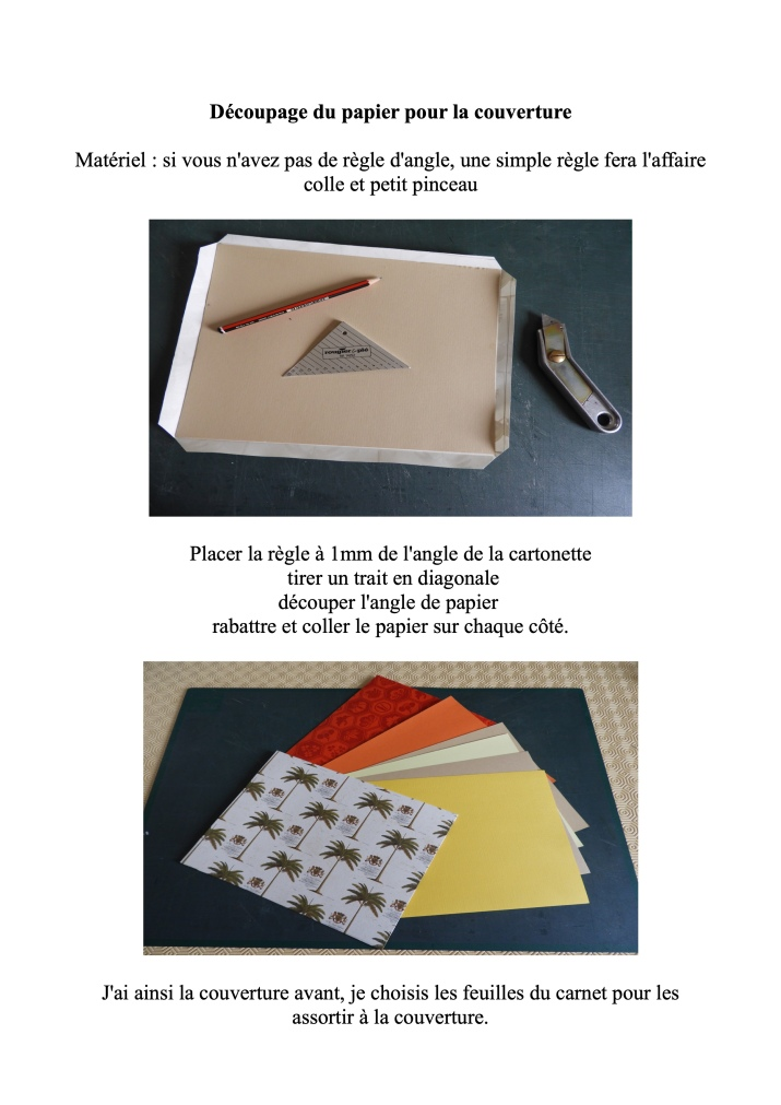 Carnet fabrication page 5